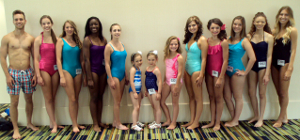 Charmaine Contestants in Swimsuit Competition